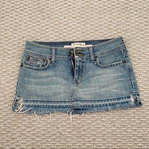 2/$25 - Abercrombie & Fitch Denim Skirt